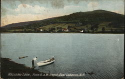 Mascoma Lake, from B&M Depot
