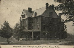 Phillips Hall, Home for Young Ladies, Bethany College