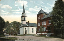 Congregational Church and Chapel Postcard