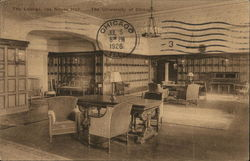 The Lounge, Ida Noyes Hall, The University of Chicago