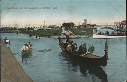 Gondolas on the Lagoon