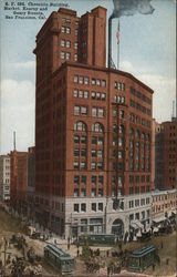 S. F. 394 Chronicle Building, Market, Kearny and Geary Streets