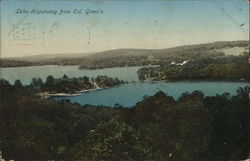 Lake Hopatcong from Col. Green's