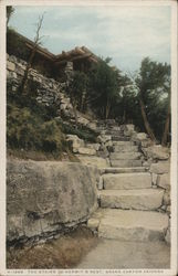 The Stairs to Hermit's Rest, Grand Canyon
