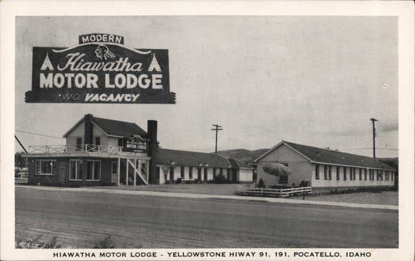 Hiawatha Motor Lodge Pocatello Idaho
