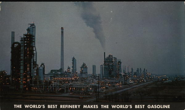 The World's Best Refinery Wilmington Delaware Oil Wells