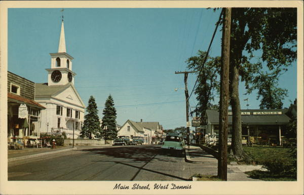 Main Street West Dennis Massachusetts