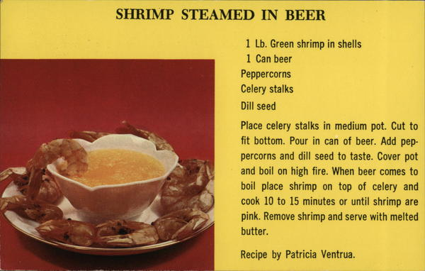 Shrimp Steamed In Beer Recipe Miscellaneous