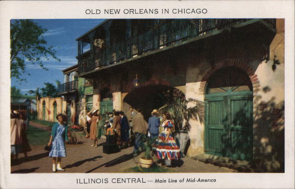 Illinois Central - Main Line of Mid-America Chicago