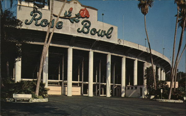 Rose Bowl - Entrance Pasadena California