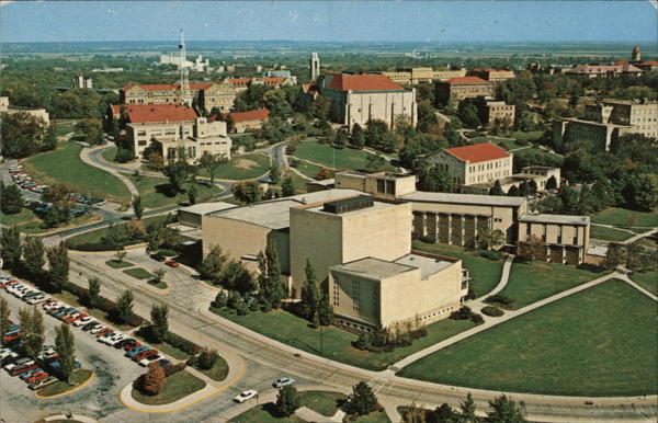 Murphy Hall - Music and Dramatic Arts Building Lawrence Kansas