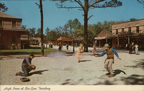 High Noon at Six-Gun Territory Silver Springs Florida