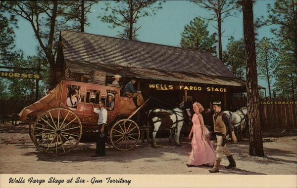 Wells Fargo Stage Silver Springs Florida