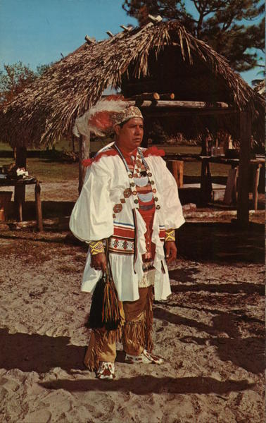 Seminole Indian Okalee Indian Village and Crafts Center West Hollywood Florida