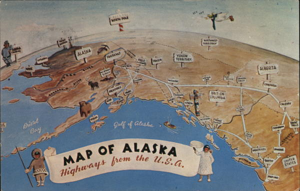 Map of Alaska Maps