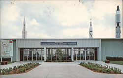 N.A.S.A. Kennedy Space Center - Visitor's Information Center Postcard