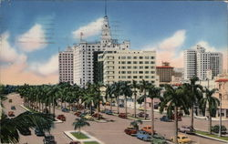 Biscayne Boulevard Looking South from N.E. 5th Street