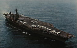 U.S.S. John F. Kennedy (CV-67) Aircraft Carrier