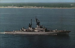 U.S.S. Harry E. Yarnell (CG-17) Guided Missile Cruiser