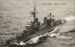U.S.S. Fred T. Berry DD-858