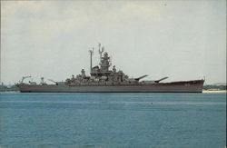 "Battleship U.S.S. ""Alabama"""