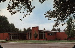 Student Union Building Postcard