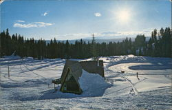 Ski Lodge, Brundage Mountain
