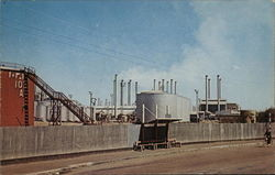 A View from Abadan Oil Refinery