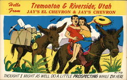 Hello from Tremonton & Riverside, Utah - Jay's El Chevron & Jay's Chevron