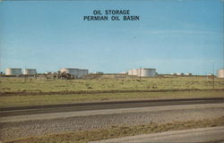 Oil Storage Permian Oil Basen