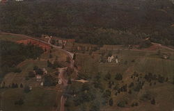 Aerial View of Appomattox Court House National Historical Park