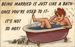 Being Married is Just Like a Bath