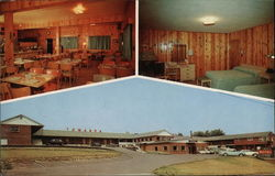 Towanda Motel and Restaurant Postcard