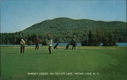 Wakely Lodge Postcard