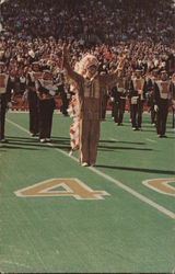 Chief Illiniwek at Memorial Stadium