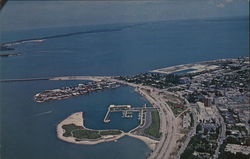 Aerial View of Marina Mar