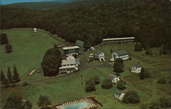 Aerial View of the Huff House