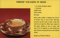 Shrimp Steamed In Beer Recipe