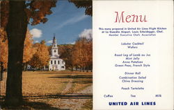 United Menu / Fall in New England