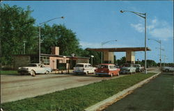 South Bend Toll Plaza Indiana Toll Road