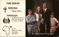 The Feays - Serving Jesus Christ