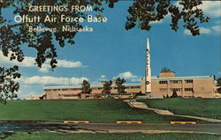 Greetings from Offutt Air Force Base Postcard