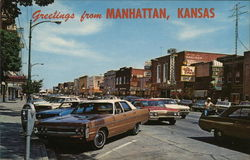 Greetings from Manhattan, Kansas Postcard