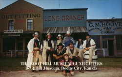 The Boot Hill Museum Gunfighters Postcard