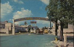 U.S. Naval Station - Entrance