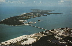 Key Biscayne From the Air