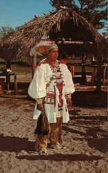Seminole Indian Okalee Indian Village and Crafts Center