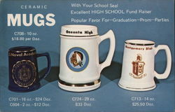 Ceramic Mugs With Your School Seal