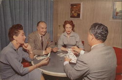 Card players - Union Pacific Railroad