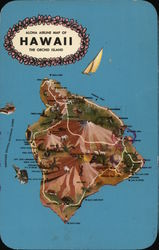 Aloha Airline map of Hawaii The Orchid Island
